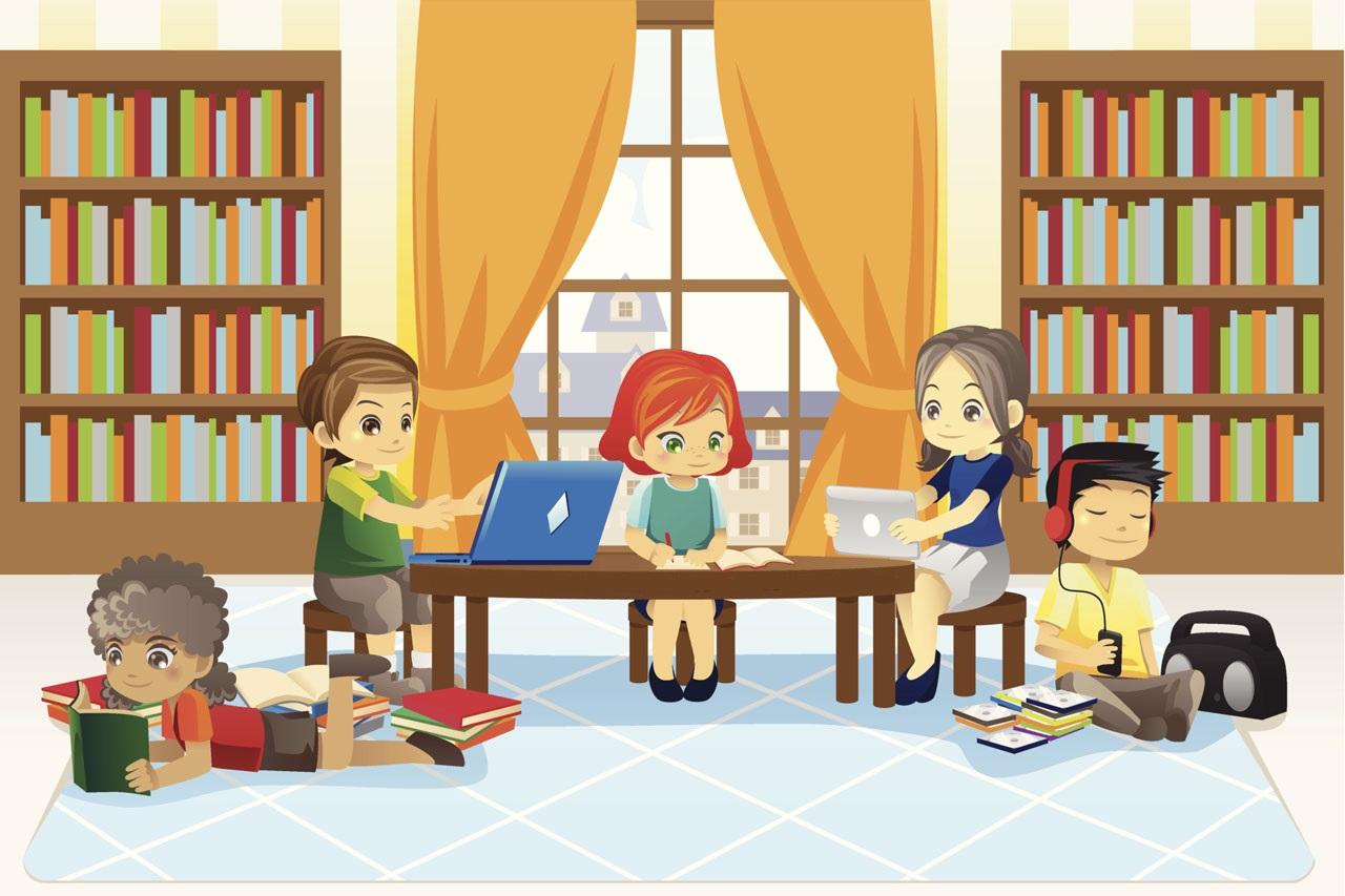Σχολική βιβλιοθήκη, ένας κόσμο γεμάτος γνώσεις
